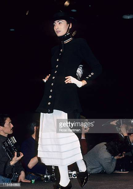 Anh Duong during Betsey Johnson Fashion Show in New York City New York United States