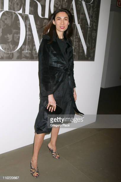 Anh Duong during Calvin Klein Inc and Bryan Adams Host the Launch of His New Photography Book 'American Women' Inside the Party at The Calvin Klein...