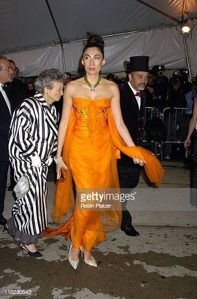 Anh Duong during The Costume Institute's Gala Celebrating 'Chanel' at The Metropolitan Museum of Art in New York City New York United States