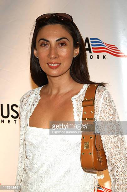 Anh Duong during USA Network Celebrates the Opening of the 2002 US Open at ACES Restaurant at the Arthur Ashe Stadium in Flushing Meadows New York...