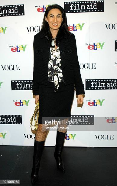 Anh Duong during Vogue and eBay Host Holiday Party to Benefit FilmAid International at Diane von Furstenberg Studios in New York City New York United...