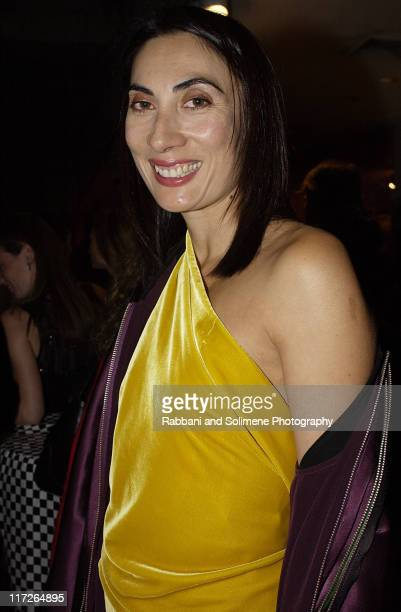 Anh Duong during Whitney Gala at the Whitney Museum October 21 2002 at Whitney Museum in New York CIty New York United States