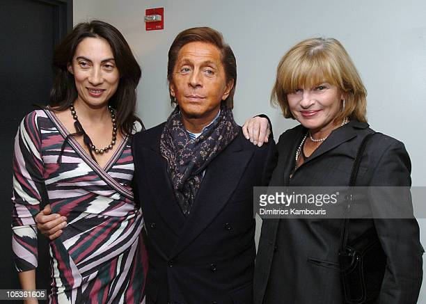 Anh Duong Valentino and Anne McNally during Valentino Hosts Special Screening for Bridget Jones The Edge of Reason at SoHo House in New York City New...