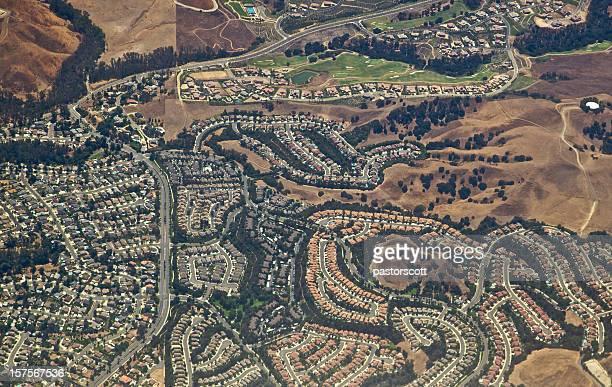 anheim hills subdivision - anaheim californië stockfoto's en -beelden