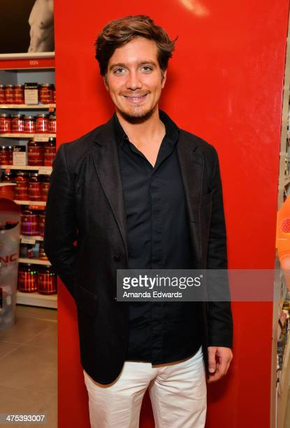 AnheuserBusch heir Jacob Busch appears at GNC Beverly Center to support television personality Adrienne Maloof's promotion of Never Hungover elixir...