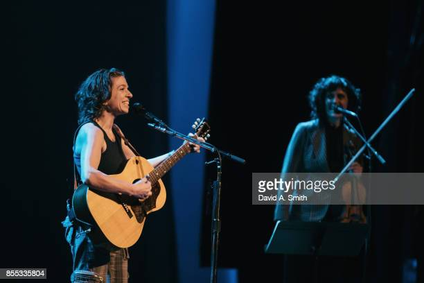 Ani DiFranco performs at the Lyric Theatre on September 28 2017 in Birmingham Alabama