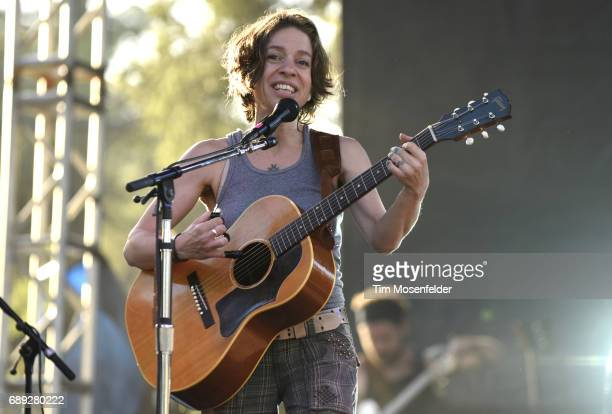 Ani DiFranco performs during BottleRock Napa Valley on May 27 2017 in Napa California