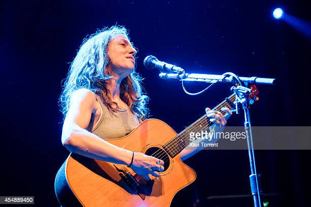 Ani DiFranco performs in concert at Sala Apolo on September 7 2014 in Barcelona Spain