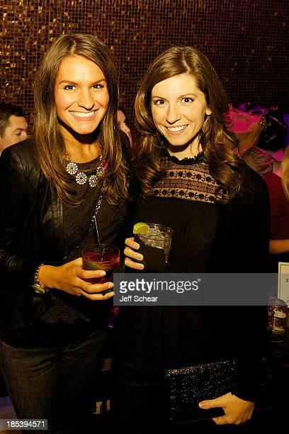 Ani Gafka and Lauren Olsen attend Michigan Avenue Magazine Celebrates H4 Starring Harry Lennix at Bodi Chicago on October 20 2013 in Chicago Illinois