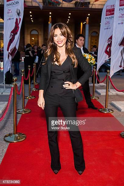 Ani Lorak attends the Hello The Most Stylish Ceremony Moscow on May 13 2015 in Moscow Russia