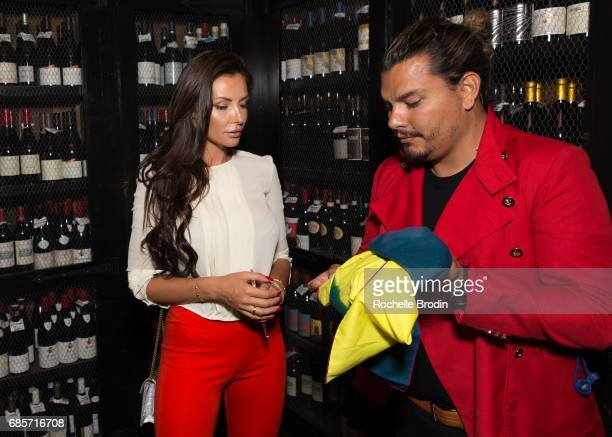 Ania Danilina and Crime By Design attend Haute Living Celebrates Josh Duhamel Presented By Westime at AOC on May 19 2017 in Los Angeles California