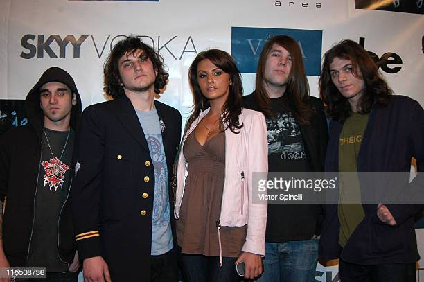Ania Danilina and The Hills during Tag Jeans Fashion Show and After Party March 19 2007 at AREA in West Hollywood California United States