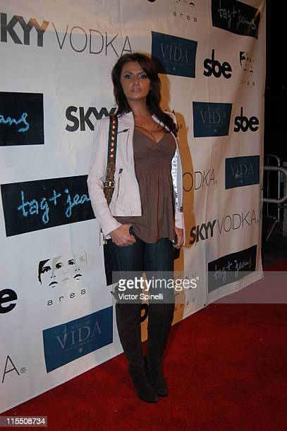 Ania Danilina during Tag Jeans Fashion Show and After Party March 19 2007 at AREA in West Hollywood California United States