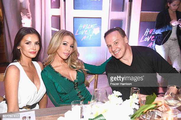 Ania Danilina TV personality Lisa Hochstein and Dr Leonard Hochstein attends Hublot Collectors Dinner CoHosted By Philippe Starck at Bianca at Delano...