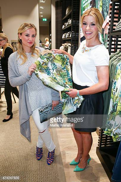 Ania Niedieck Annica Hansen attend the BRAX Store Opening on May 20 2015 in Cologne Germany