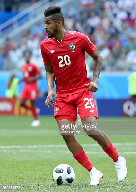 Anibal Godoy of Panama during the 2018 FIFA World Cup Russia group G match between England and Panama at Nizhniy Novgorod Stadium on June 24 2018 in...