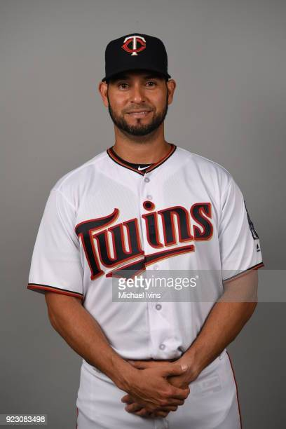 Anibal Sanchez of the Minnesota Twins poses during Photo Day on Wednesday February 21 2018 at CenturyLink Sports Complex in Fort Myers Florida