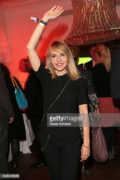 Anica Dobra during the Peugeot BVC Casting Night during the Munich Film Festival 2016 at Kaeferschaenke on June 26 2016 in Munich Germany