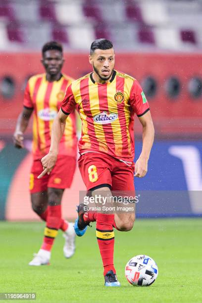 Anice Badri of ES Tunis runs with the ball during the FIFA Club World Cup 5th place match between Al-Sadd Sports Club and Esperance Sportive de Tunis...