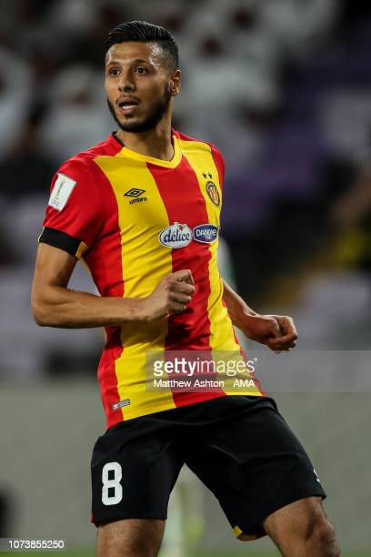Anice Badri of Esperance de Tunis during the FIFA Club World Cup UAE 2018 between ES Tunis and Al Ain at Hazza Bin Zayed Stadium on December 15 2018...