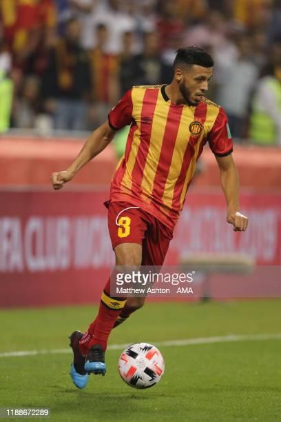 Anice Badri of Esperance Sportive de Tunis during the FIFA Club World Cup 2nd round match between Al Hilal and Esperance Sportive de Tunis at Jassim...