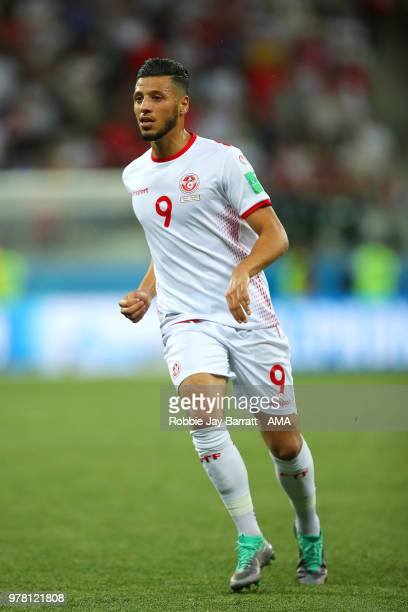 Anice Badri of Tunisia in action during the 2018 FIFA World Cup Russia group G match between Tunisia and England at Volgograd Arena on June 18 2018...