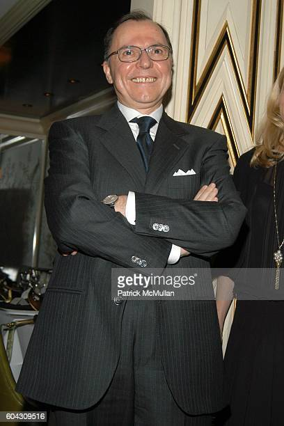 Aniello Musella attends BERGDORF GOODMAN and The Italian Trade Commission host a dinner with the Young Friends of Save Venice for FARAONE MENNELLA at...