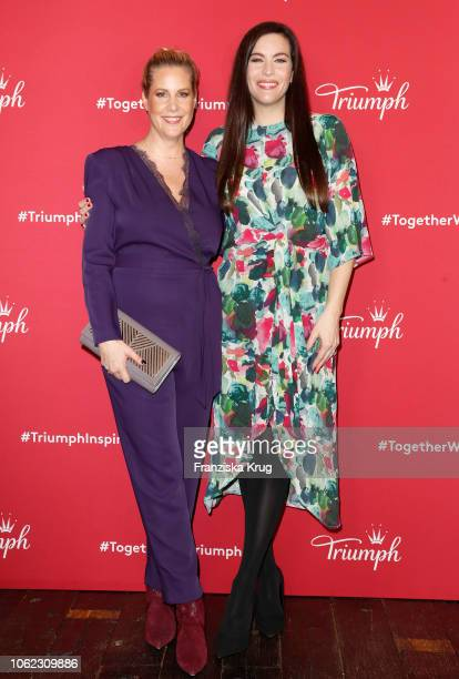 Anika Decker and Liv Tyler during the Triumph event at Soho House on November 16 2018 in Berlin Germany