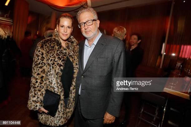 Anika Decker and Martin Moszkowicz attend the 'Dieses bescheuerte Herz' premiere on December 12 2017 in Berlin Germany