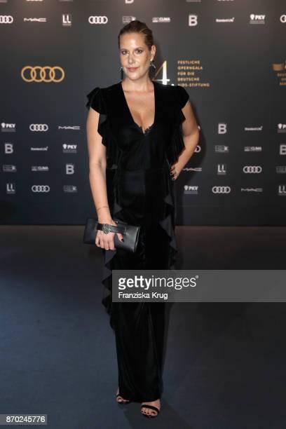 Anika Decker attends the 24th Opera Gala at Deutsche Oper Berlin on November 4 2017 in Berlin Germany