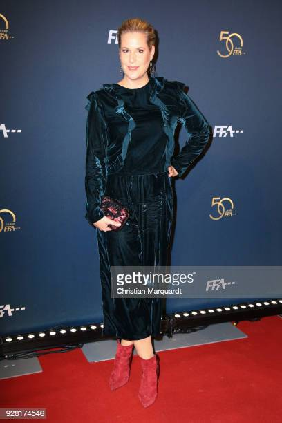 Anika Decker attends the 50th anniversary celebration of FFA at Pierre Boulez Saal on March 6 2018 in Berlin Germany