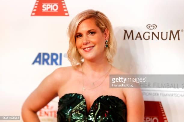 Anika Decker attends the German Film Ball 2018 at Hotel Bayerischer Hof on January 20 2018 in Munich Germany