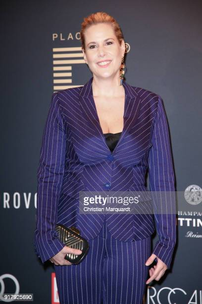 Anika Decker attends the PLACE TO B PreBerlinaleDinner Photo Call at Provocateur on February 13 2018 in Berlin Germany
