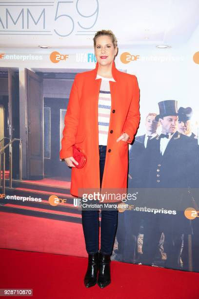 Anika Decker attends the premiere of 'Ku'damm 59' at Cinema Paris on March 7 2018 in Berlin Germany