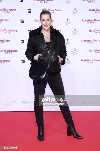 Anika Decker attends the 'Rate Your Date' premiere at CineStar on February 26 2019 in Berlin Germany