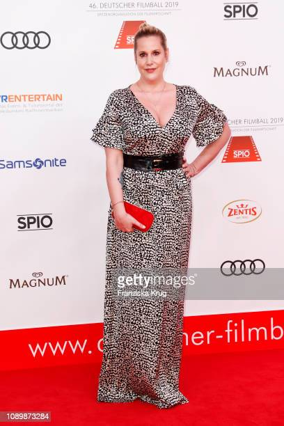 Anika Decker during the 46th German Film Ball at Hotel Bayerischer Hof on January 26 2019 in Munich Germany