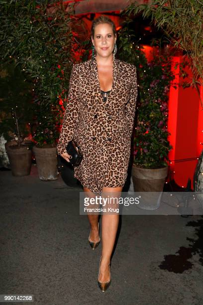 Anika Decker during the Bunte New Faces Night at Grace Hotel Zoo on July 2 2018 in Berlin Germany