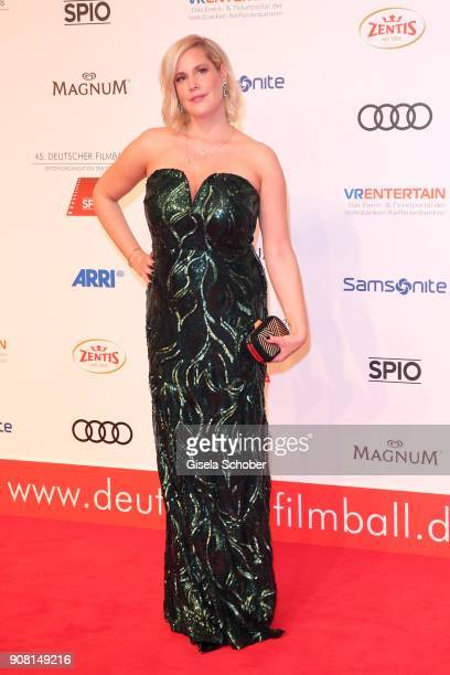 Anika Decker during the German Film Ball 2018 at Hotel Bayerischer Hof on January 20 2018 in Munich Germany