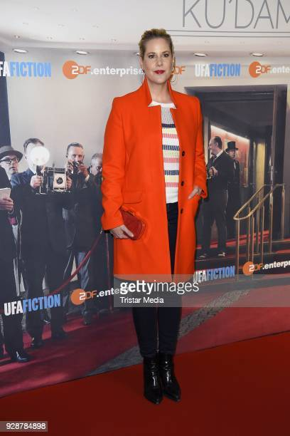 Anika Decker during the premiere of 'Ku'damm 59' at Cinema Paris on March 7 2018 in Berlin Germany
