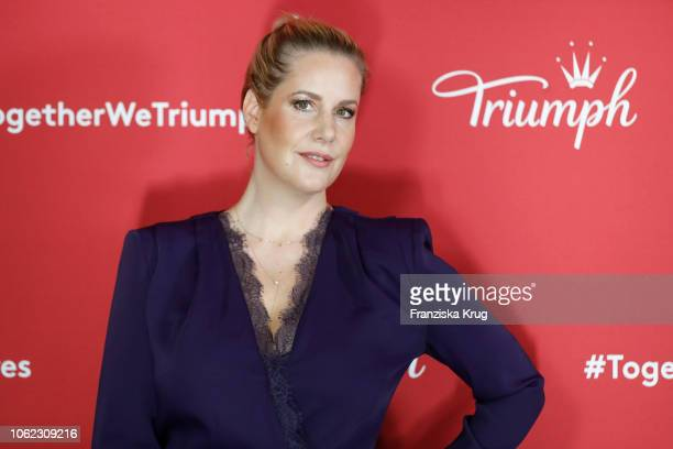 Anika Decker during the Triumph event at Soho House on November 16 2018 in Berlin Germany