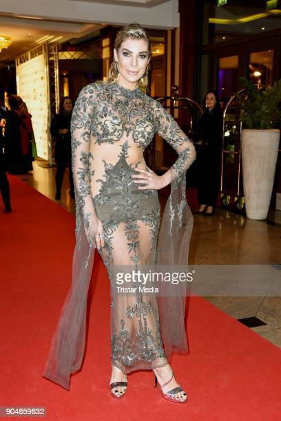 Anika Gassner attends the 117th Press Ball on January 13 2018 in Berlin Germany