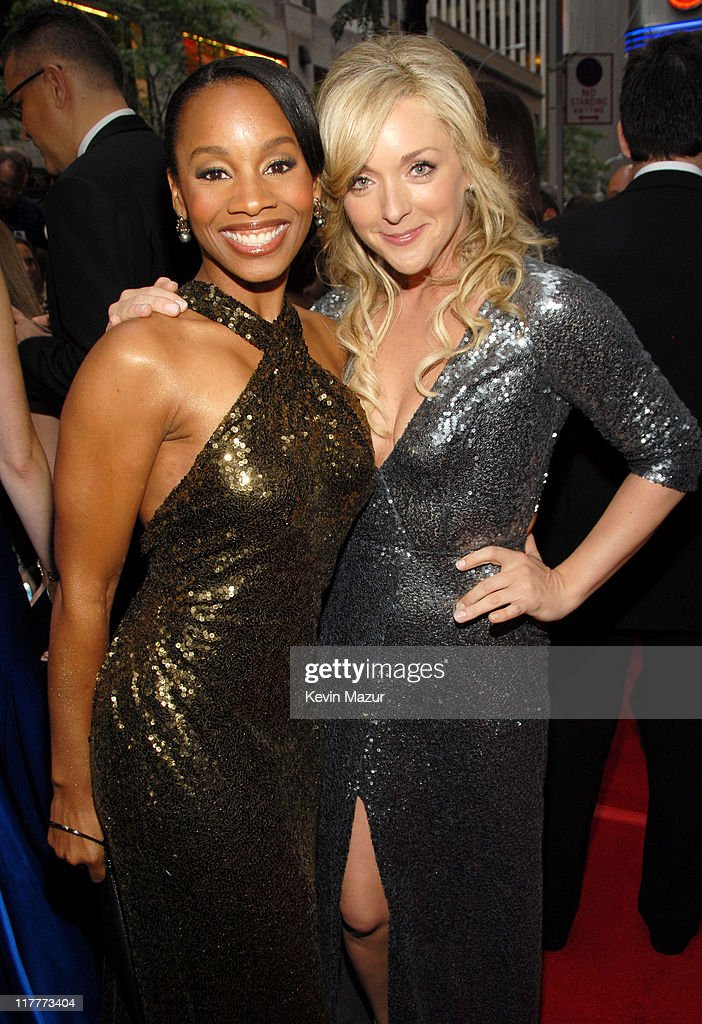 Anika Noni Rose and Jane Krakowski during 61st Annual Tony Awards - Red Carpet at Radio City Music Hall in New York City, New York, United States.