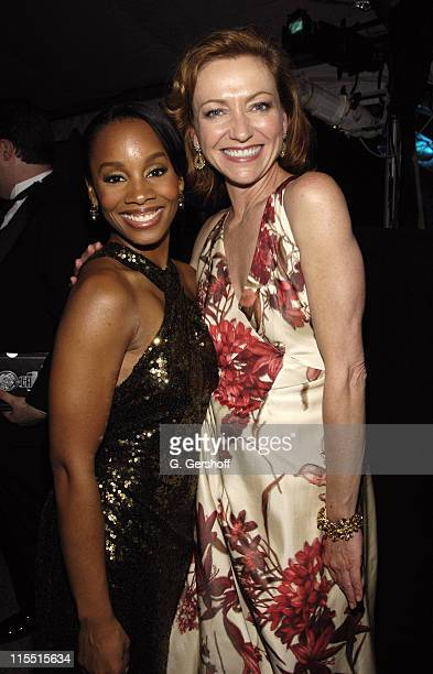 "Anika Noni Rose and Julie White, winner Actress for ""The Little Dog Laughed"""