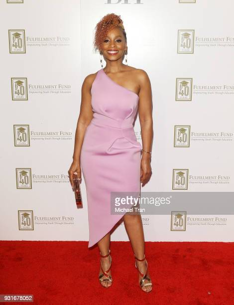 Anika Noni Rose attends A Legacy of Changing Lives presented by The Fulfillment Fund held at The Ray Dolby Ballroom at Hollywood Highland Center on...