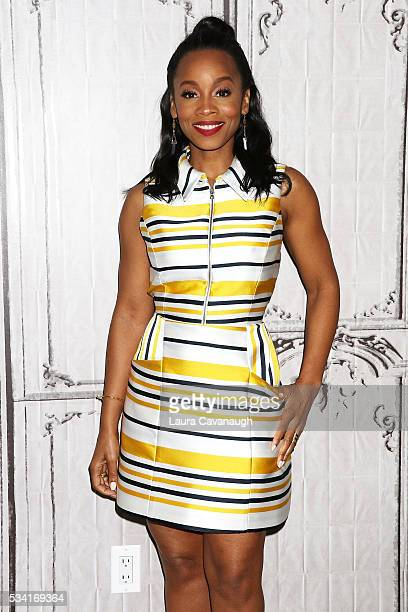"Anika Noni Rose attends AOL Build Speaker Series to discuss ""Roots"" at AOL Studios In New York on May 25, 2016 in New York City."