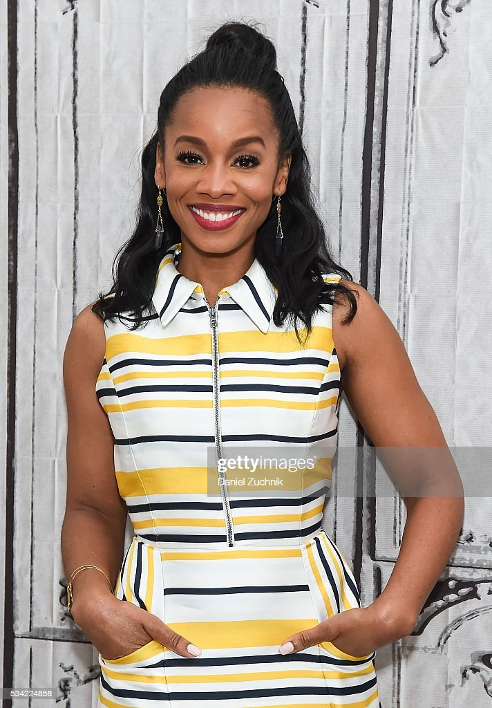"""AOL Build Presents: Anika Noni Rose Discusses Her Role In """"Roots"""" : News Photo"""