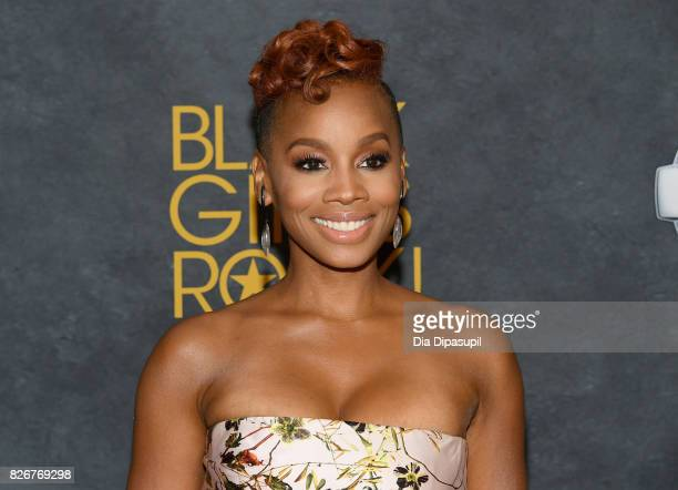 Anika Noni Rose attends Black Girls Rock! 2017 at NJPAC on August 5, 2017 in Newark, New Jersey.