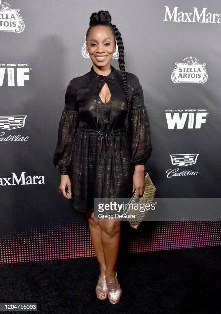 Anika Noni Rose attends the 13th Annual Women In Film Female Oscar Nominees Party at Sunset Room Hollywood on February 07, 2020 in Hollywood,...
