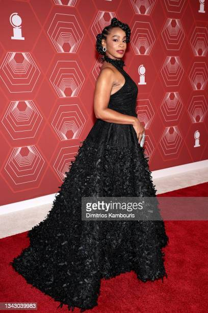 Anika Noni Rose attends the 74th Annual Tony Awards at Winter Garden Theater on September 26, 2021 in New York City.