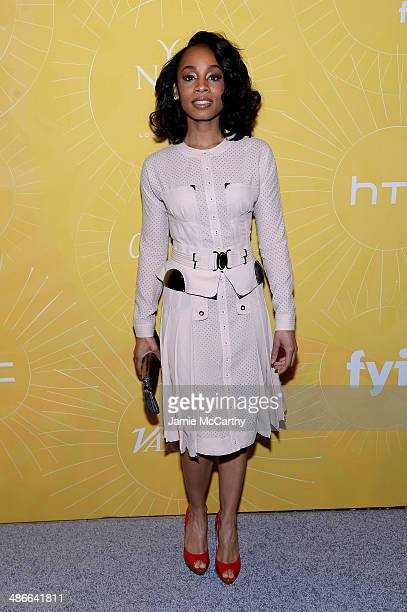 Anika Noni Rose attends Variety Power Of Women: New York presented by FYI at Cipriani 42nd Street on April 25, 2014 in New York City.